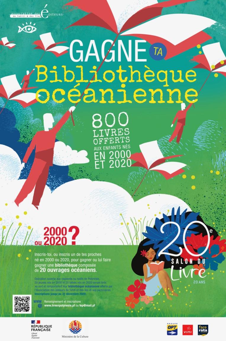 Une bibliothèque océanienne pour leurs 20 ans
