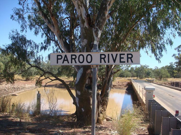 Eulo s'était développé au milieu du bush grâce à la Paroo River, en fait un point d'eau unique dans la région.
