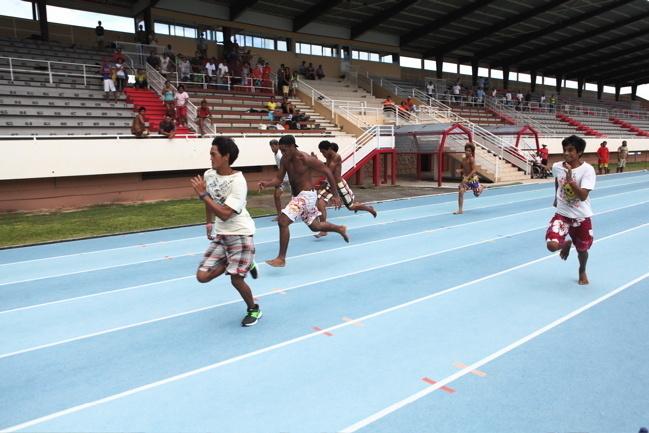 Handisport : « Le sport c'est pour la santé ! » dixit Tereitini Pouira