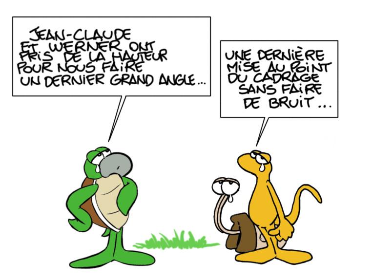 """""""L'hommage"""", par Munoz"""