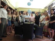 AJPF: Les étudiants en droit rendent hommage à Solange Drollet