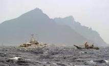 Trois navires chinois dans les eaux territoriales d'îles disputées au Japon