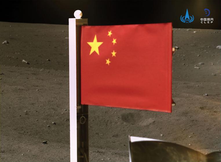 La Chine rapporte des morceaux de Lune, une première en 44 ans