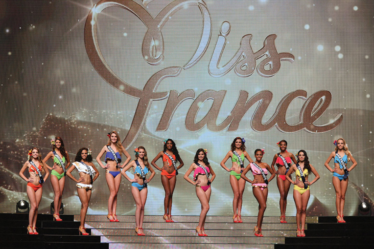 Photo d'archives de l'élection Miss France 2017 (Pascal GUYOT / AFP)