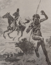 Pour la Native Police, il s'agissait de faire sortir les Aborigènes de leurs caches afin de les mettre à découvert pour les abattre plus facilement.