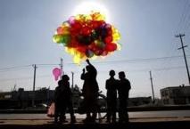 Bientôt 10.000 ballons roses à Kaboul pour faire oublier la guerre