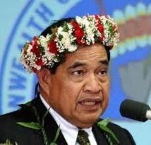 Démission du Gouverneur des Marianne du Nord
