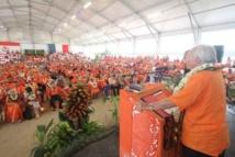 Tahoeraa: Congrès des Raromatai, la liste des Iles Sous-le-Vent présentée devant 1400 militants