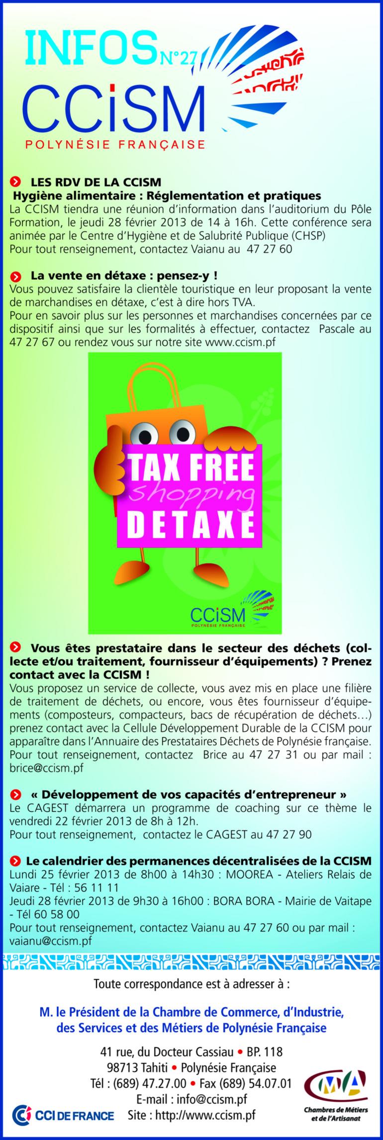 Infos CCISM N°27