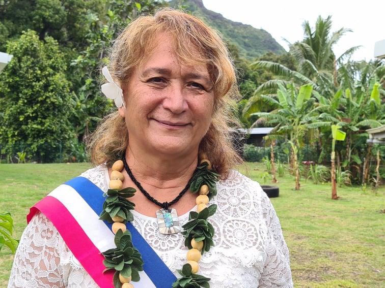 Elsa Keck élue première adjointe à Moorea