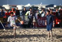 Beach Soccer: les Tiki Toa remportent leur deuxième match contre la France 5 à 4
