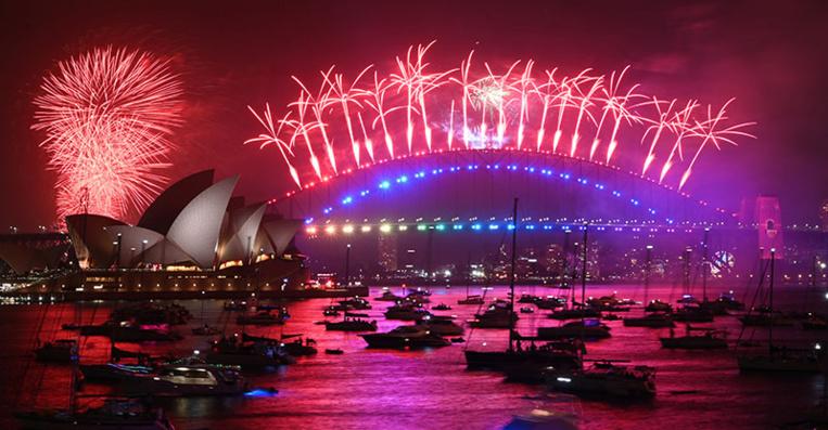 Virus: A Sydney, un feu d'artifice du Nouvel an sans spectateur