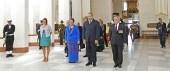 Le Roi George VI de Tonga en visite d'État en Nouvelle-Zélande