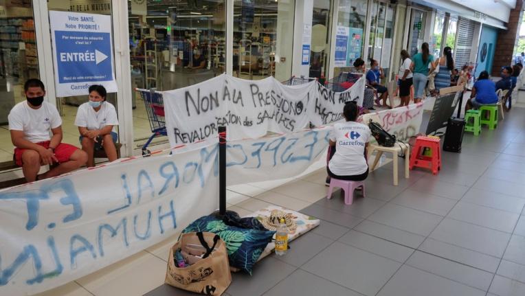 Grève à Carrefour : les négociations patinent