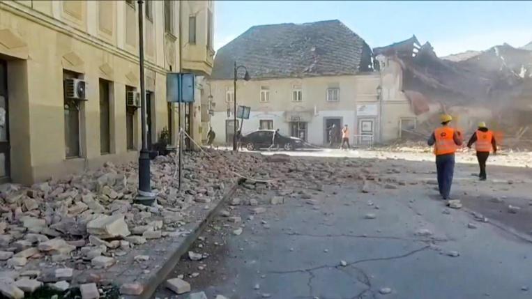 La Croatie touchée par un séisme de magnitude 6,4