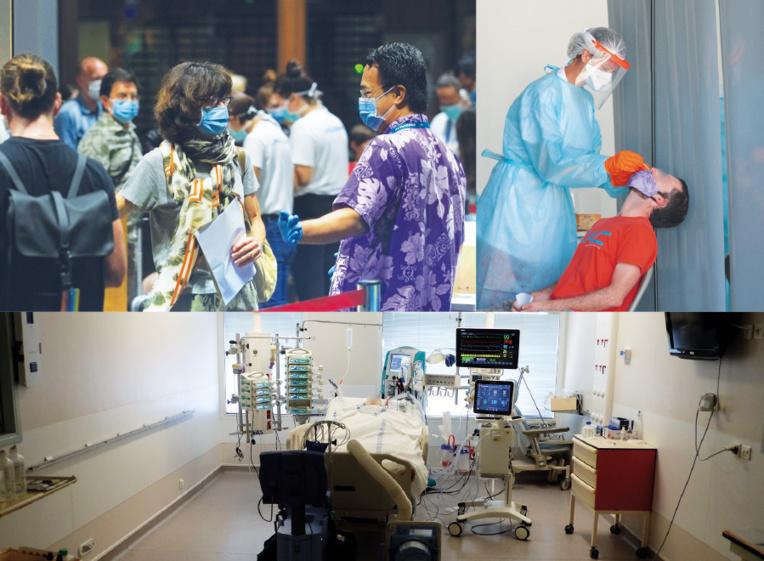 La Polynésie, mauvaise élève dans la gestion de l'épidémie de Covid-19