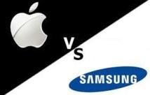 Procès contre Apple aux USA: l'amende géante de Samsung en partie invalidée