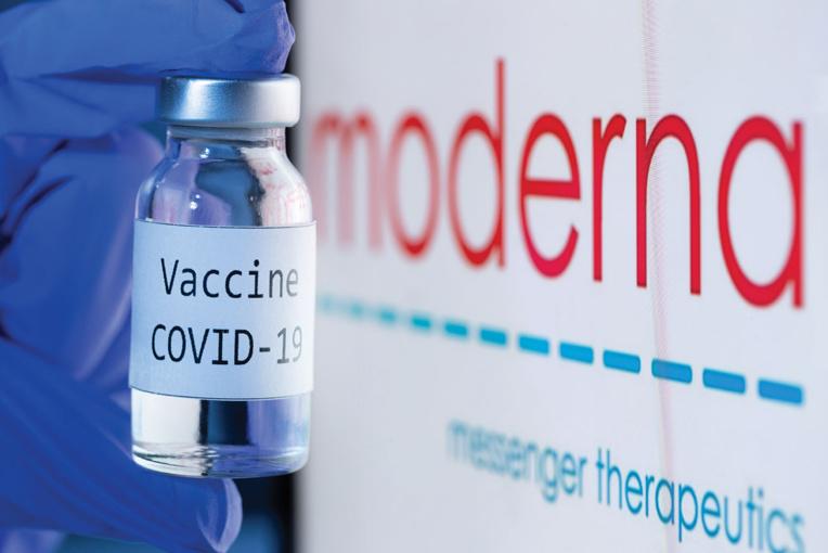 Covid-19: feu vert des autorités de santé à un 2e vaccin en France, celui de Moderna
