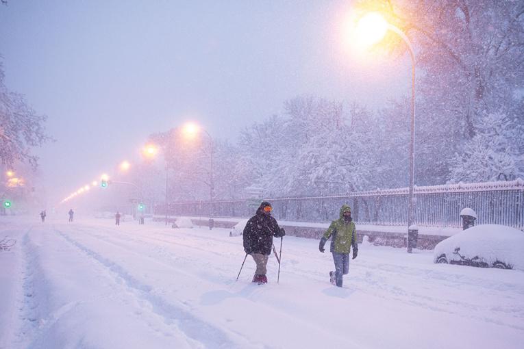 Espagne: course contre la montre pour déneiger avant une vague de froid