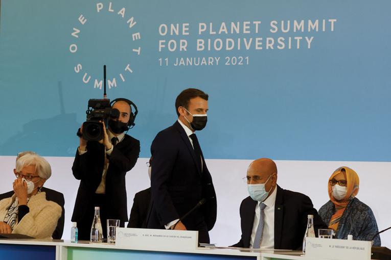 Ouverture du One planet Summit pour la biodiversité