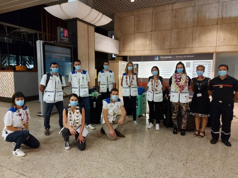 Arrivée de 14 nouveaux infirmiers de la réserve sanitaire