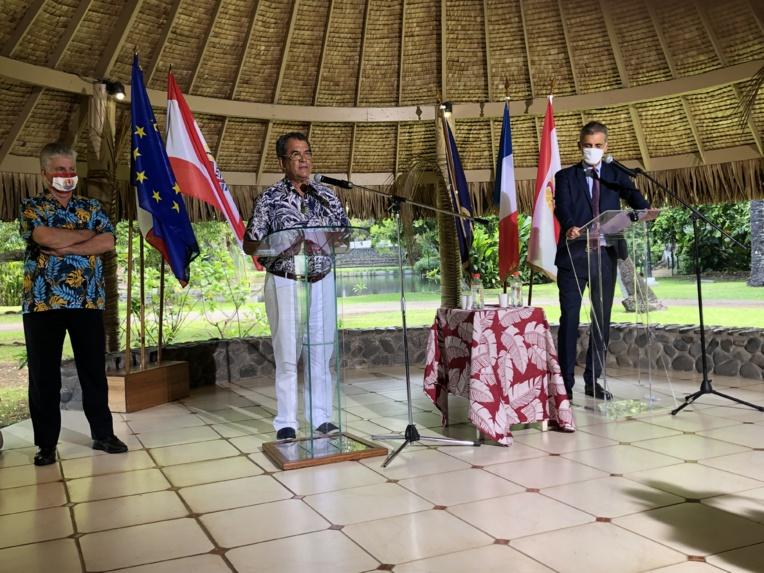 """""""Il n'est pas question de baisser la garde dans les prochaines semaines"""", a notamment déclaré Dominique Sorain, haut-commissaire de la République."""