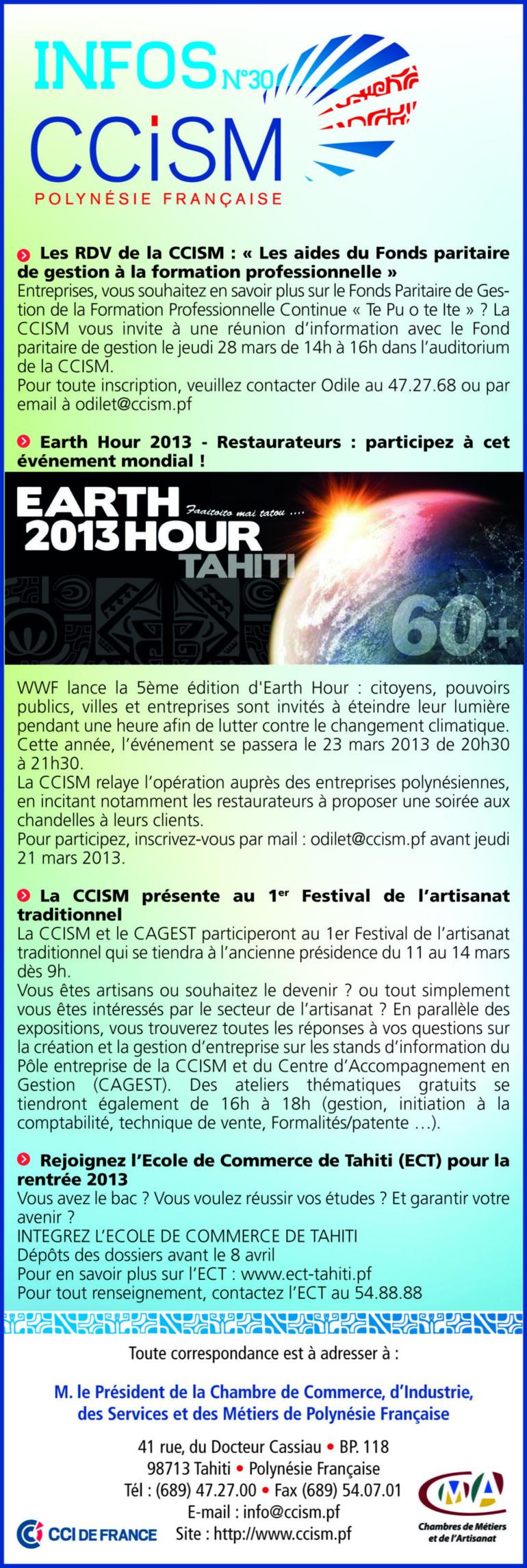 Infos CCISM N°30