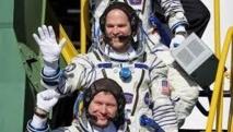 Les trois astronautes de l'ISS sont revenus sur terre