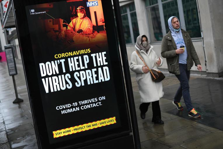 Virus: le variant britannique s'étend dans le monde, les Etats-Unis de retour à l'OMS