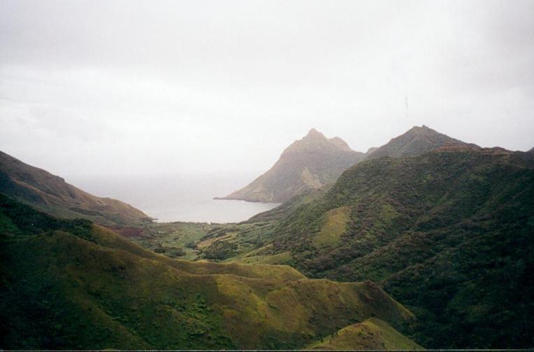 La petite baie de Hiri (photo Sardon).