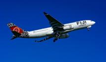 Le premier Airbus aux couleurs de Fidji prend son envol (Source Airbus)
