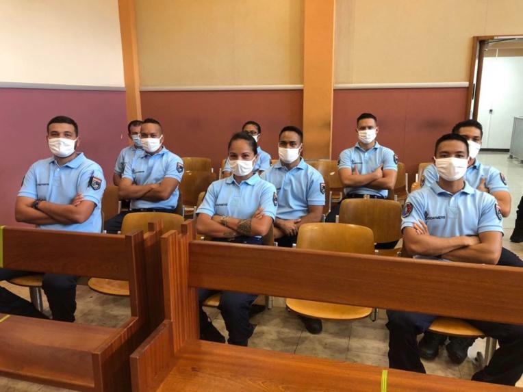Prestation de serment pour 9 gendarmes adjoints volontaires