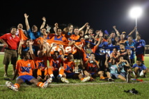 Dragon gagne la coupe de Tahiti dans les arrêts de jeu