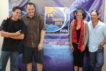 Beach Soccer Fifa 2013 : Soirée de la chanson officielle, 4 artistes en lice