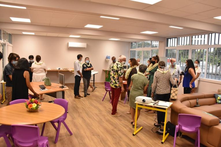 """Les """"Margareth's Place"""" sont des salons confortables et confidentiels, installés dans les établissements, où les élèves peuvent venir s'exprimer auprès de professionnels."""