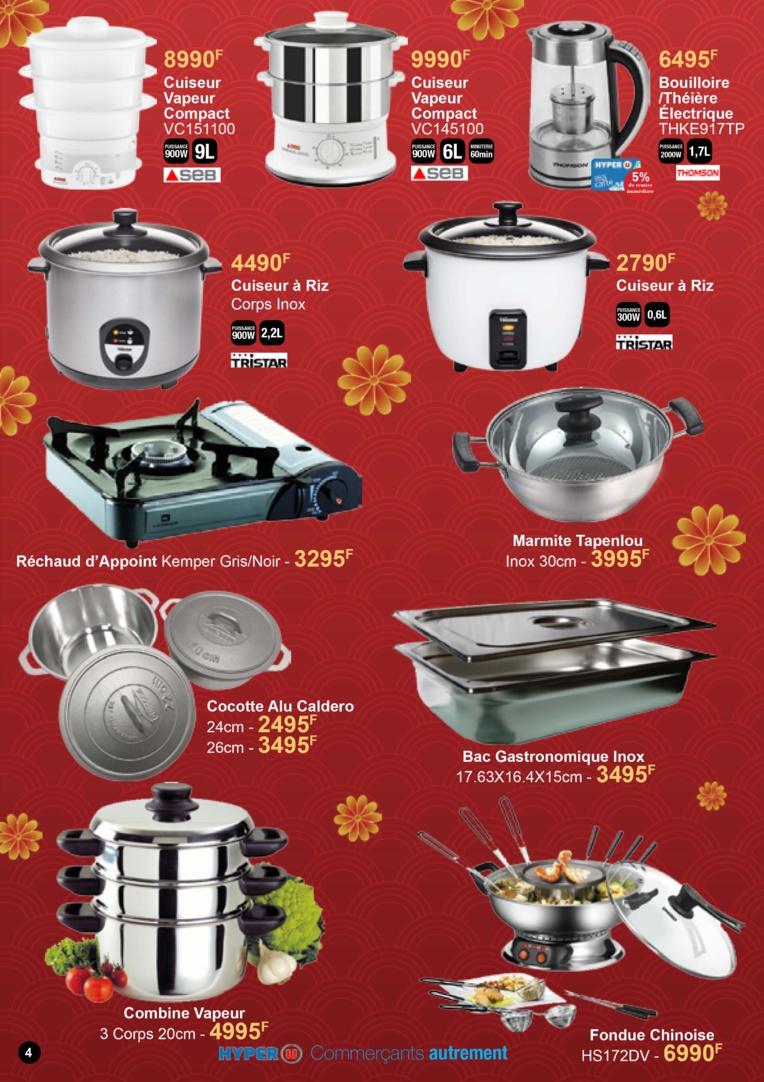 Catalogue Hyper U Nouvel an chinois