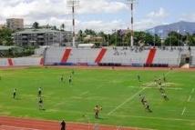 Le stade Numa Daly à Noumea peut accueillir 10 000 personnes