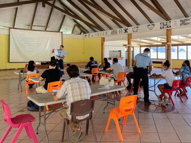 La gendarmerie recrute des réservistes dans l'archipel marquisien