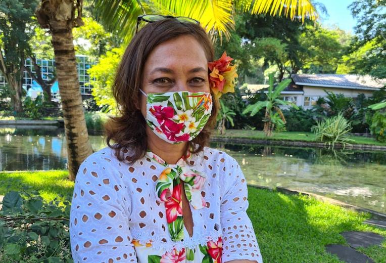 """Nicole Sanquer, sans groupe mais avec un """"mouvement politique"""""""