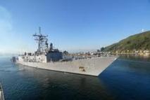 Dans le Pacifique, l'USS Thach piste les trafiquants de drogue