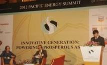 Sommet de l'énergie dans le Pacifique : des enveloppes vertes à foison