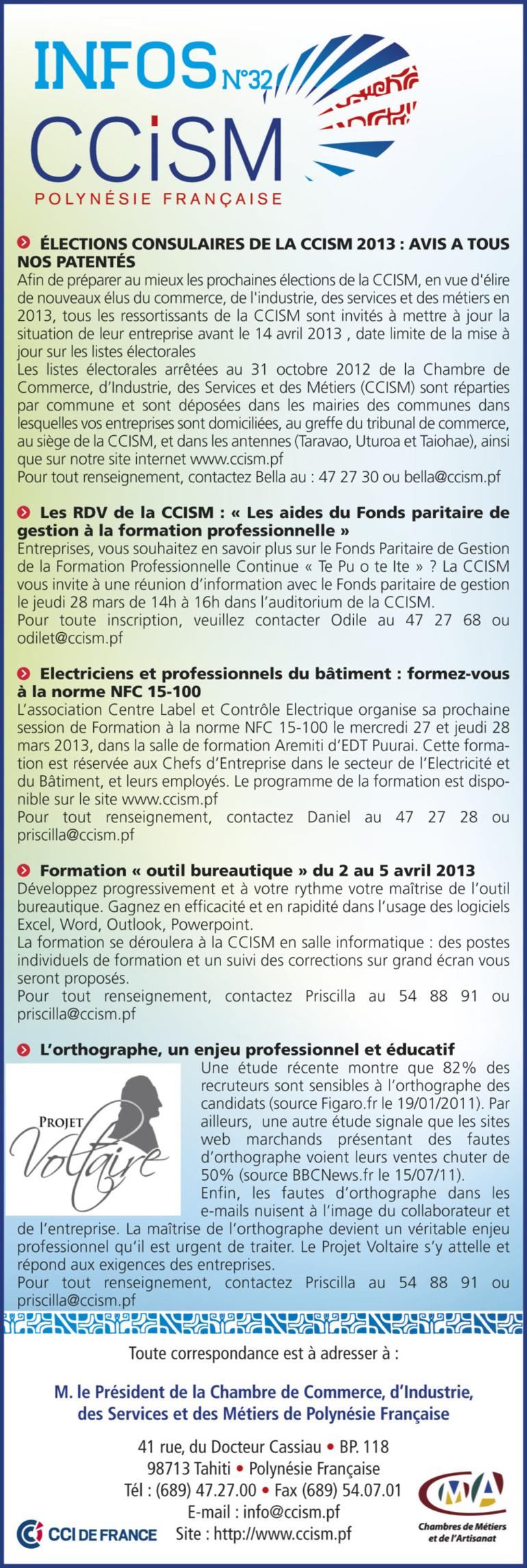 Infos CCISM N°32