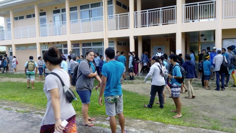 Covid : sept cas positifs au collège de Mataura de Tubuai