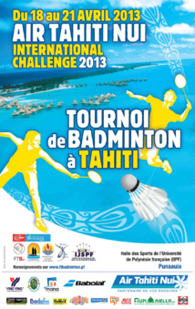 Tahiti Tournoi International Badminton et Oceania 2013