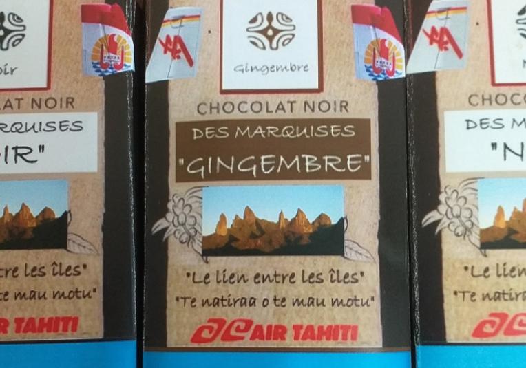 Un chocolat de Ua Pou aux couleurs d'Air Tahiti