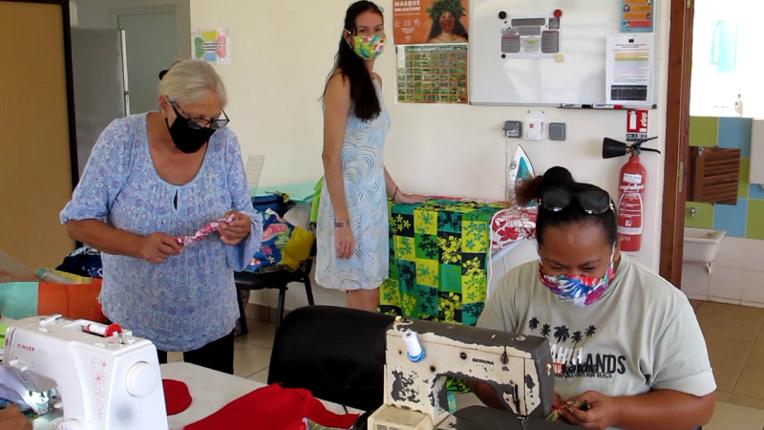 Un atelier couture écolo lancé à Nuku Hiva