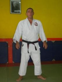 Le judoka Bruno DAMO de l'EJJP Moorea à l'open international des vétérans de Tours