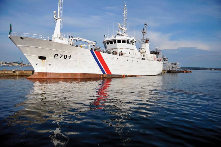 Covid: le patrouilleur Le Malin envoyé à Mayotte