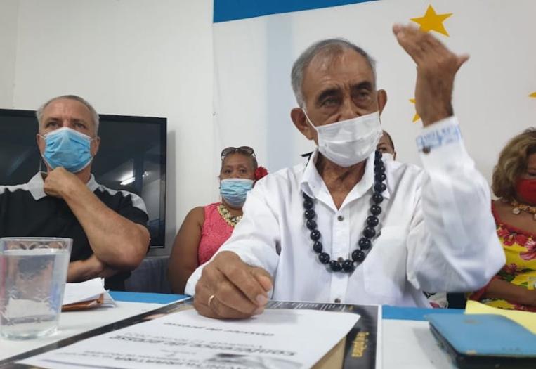"""Le Tavini """"exhorte"""" le Pays à commander des vaccins russes ou chinois"""