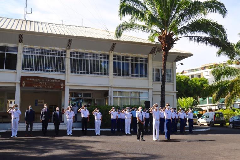 Hommage aux gendarmes décédés dans l'exercice de leurs fonctions